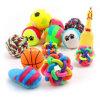 Neue Ankunfts-Behandlung-Kugel-Gummihundespielzeug-Haustier-Tennis-Kugel