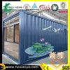 20FT de Mobiele Winkel van de Eenheid van het Huis van de container of het PrefabHuis van het Bureau