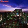 De best-seller die Acht Lichten van de Laser van de Tuin van de Bloem bewegen voor Kerstmis