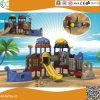 海賊ボートデザイン子供のための屋外のプラスチック運動場装置