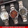 Band-Genf-Dame-Uhren des Ineinander greifen-Yxl-642 hergestellt China-preiswerter Preis-im bunten Uhr-Vorwahlknopf-Entwurf