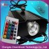 Motor da luz da fibra óptica da iluminação do diodo emissor de luz da cor 45W do RGB