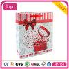 Saco de compra do presente dos cosméticos doces do papel revestido do presente do bolo da afeição