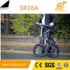 16 '' bicis eléctricas del plegamiento eléctrico, 36V 250W mini Ebike