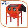 220L Areia Vertical Blaster Machine, Máquina de jacto de areia portátil