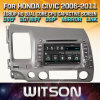 Witson Windows Rádio leitor de DVD estéreo para Honda Civic 2006 2011