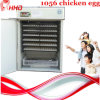 1056 Incubator van het Ei van de Kip van eieren de Volledige Automatische Industriële (yzite-10)