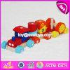 Het nieuwe Speelgoed W04A295 van de Trein van het Spel van de Kinderen van het Ontwerp Grappige Houten