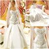 Vestido de casamento branco (HD-008)