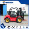 SaleのためのRoad Forklift (Cpcd25)を離れたYto 2.5 Ton Wheel