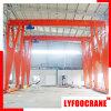 Grue d'usage courant simple de structure de cadre de grue de portique de poutre