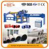 Tipo horizontal tubo de Hongfa Hf-2000 del cemento que hace la máquina