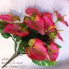 Meiboの花、ユリ、ヘッド12絹の花