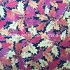 Printing de prata Leaves Design Fabric para Packing