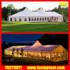 15X30m Luxury altos picos misturados Marquee Multi-Side termina tenda de casamento