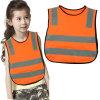 Gilet r3fléchissant de la sûreté des enfants intelligents de couleur pour l'usure extérieure de gosses