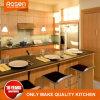 Ontwerp van de Kasten van de Keuken van de melamine het Oranje Houten online