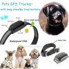 Inseguitore di vendita caldo di GPS dell'animale domestico con il collare (EV-200)