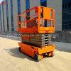 Personalizar la plataforma de elevación de la tijera hidráulica autopropulsada con oruga de caucho, Autonivelante