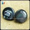 Bouton de jambe perlé de Shell de chapeau plat de bouton de nature