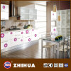 Flor brilhante porta do armário de cozinha (ZH-C803)