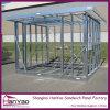 La estructura de acero de alta calidad para la construcción de la casa