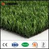 Relvado natural sintético da grama do certificado 25mm do GV para o jardim