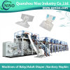 중국 세륨 (CNK300-SV)를 가진 가득 차있 자동 귀환 제어 장치 성숙한 기저귀 패드 생산 기계