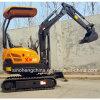 Máquina escavadora hidráulica Xn16 da esteira rolante do equipamento de construção mini