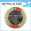 Metall Challenge Coin mit Diamond Cut Edge+Printed mit Epoxy