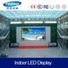 Alta definición P6 LED de interior que hace publicidad de la pantalla de visualización