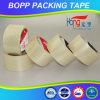 Cinta adhesiva transparente del embalaje del lacre BOPP del cartón de Hongsu