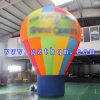 Bekanntmachen des farbigen aufblasbaren Grundballons