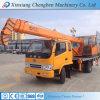 Grue utilisée télescopique hydraulique de camion de la Chine de la meilleure réputation mini 6 tonnes
