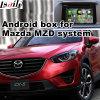 Interfaccia Android di percorso di GPS dell'automobile per Mazda Cx-5, percorso di tocco di aggiornamento, WiFi, BT, Mirrorlink, HD 1080P, programma di Google, memoria del gioco