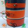 Réchauffeur flexible en caoutchouc de silicone pour éléments de tambour à huile
