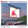 La pared video fijada alquiler al aire libre a todo color del LED para el uso de la etapa con de aluminio a presión la cabina de la fundición