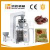 Vertical que dá forma à máquina de enchimento do acondicionamento de alimentos da selagem