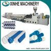 Chaîne de production en plastique d'extrudeuse ligne de machine d'Extrustion pour la pipe de PVC
