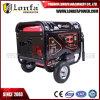 генератор газолина цены высокой эффективности низкой стоимости 7.2kVA 6kw супер молчком дешевый