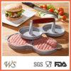 Presse chaude de viande de catégorie comestible de presse d'hamburger de double de la vente Ws-Bp002