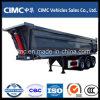 Cimc 3 Axle Tipper сброса трейлер 30 Semi кубический с формой u
