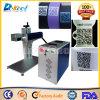 Machine d'inscription de laser de fibre de commande numérique par ordinateur de code en métal/non-métal 2D