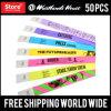 Kundenspezifischer Bildschirm gedruckt, farbenreiche gedruckte Tyvek Wristbands