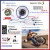 Bluet programmabile! motore elettrico della bici di 48V 1000W Magicpie 5 con la batteria LiFePO4