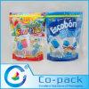 Gedruckter Fastfood- Beutel mit Reißverschluss für das Lutscher-Verpacken
