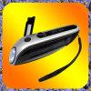 Produits de mode pour la radio du voyage FM et la lampe-torche solaire de chargeur mobile (HY-SCG21)