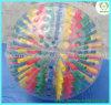 Zorb colorisée ballon gonflable