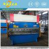 Presionar el freno con el regulador del CNC de Delem Da52s