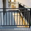 China proveedor valla de protección de aviso de seguridad de acero amarillo